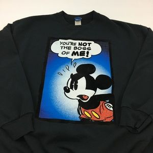 Disney Mickey Mouse Graphic Sweatshirt XL